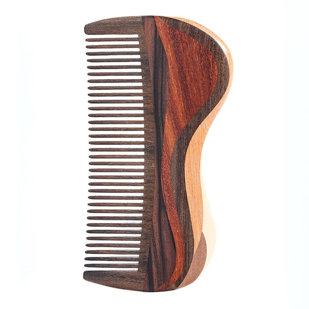 Product Detail - TANMUJIANG mountain river and water Hair comb for Men 1 piece - image 0