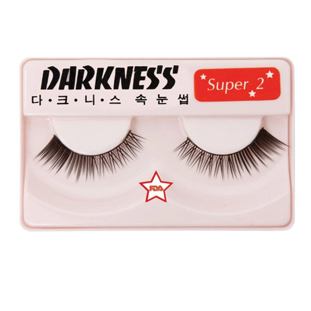 Product Detail - DARKNESS False Eyelashes  Super #2 1Pair In 1Box - image 0