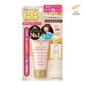 日本MEISHOKU明色 MOIST LABO 润泽精华BB霜 #02珠光粉色 SPF50 PA++++ 33g