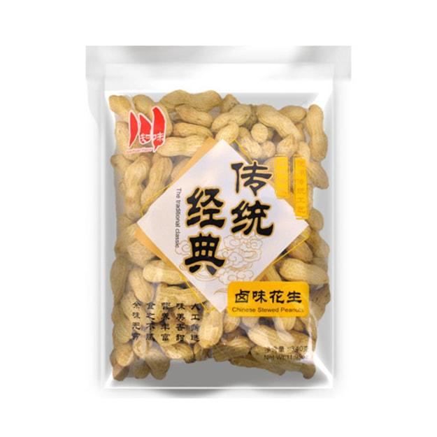 商品详情 - 川知味 传统经典 卤味花生 340g - image  0