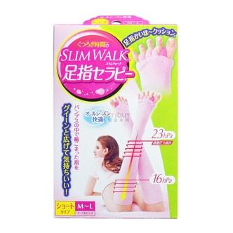 SLIM WALK Compression Socks Knee Length Pink sizeL-M 1 Piece
