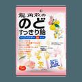 日本RYUKAKUSAN龙角散 夹心润喉糖 蜜桃口味 80g