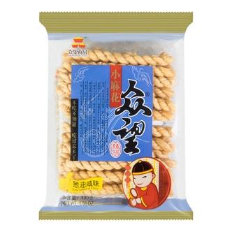 ZHONGWANG Salty Shallot Oil Flavor Mini-fried Dough Twist 130g
