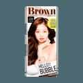Hello bubble Hair Foam Color Chocolate Brown