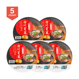 YUMEI Master Chief Sichuan Instant Hot-pot Spicy 325g*5Pcs