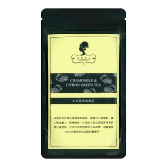LADIES TEA Chamomile&Citron Green Tea 16g