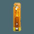 minimum  RIlakkuma Hapika 轻松熊系列小巧高质量电动牙刷 DBK-5R(RK)  黄色 正装 1支