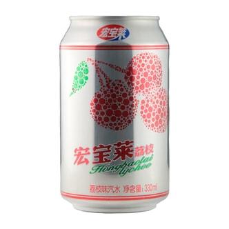 HONG BAO LAI Litchi Soda 330mL