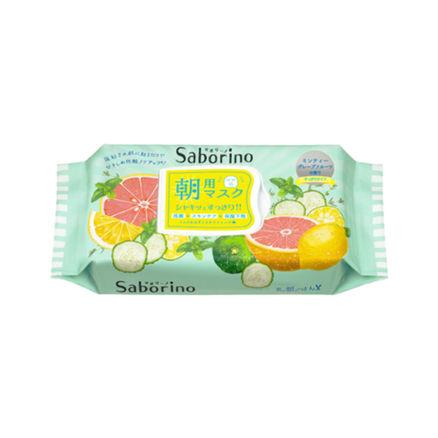 Product Detail - BCL SABORINO Morning Face Pack Fresh Fruit 32sheets - image 0