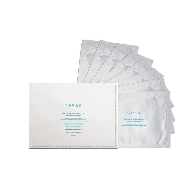 Product Detail - SEVAA Organic Amazon White Clay Brightening Mask 8sheets - image 0