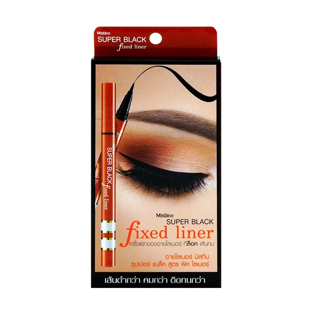 Product Detail - MISTINE Super Black Fixed Liner - image 0