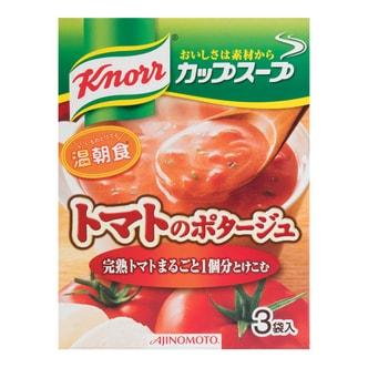 日本AJINOMOTO 西红柿蔬菜浓汤汤料 3袋入 51.6g