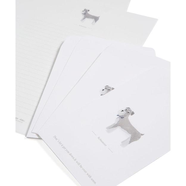 商品详情 - 雪纳瑞信封信纸一套(10) - image  0