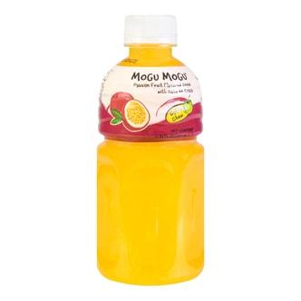 泰国MOGU MOGU 果汁椰果饮料 百香果味 320ml