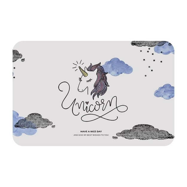 Product Detail - 2021LIFE Diatom mud floor rug- Unicorn - image 0