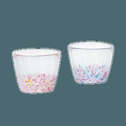 ISHIZUKA GLASS 石塚硝子||津轻玻璃樱花多用玻璃杯FS-62508||2个/盒
