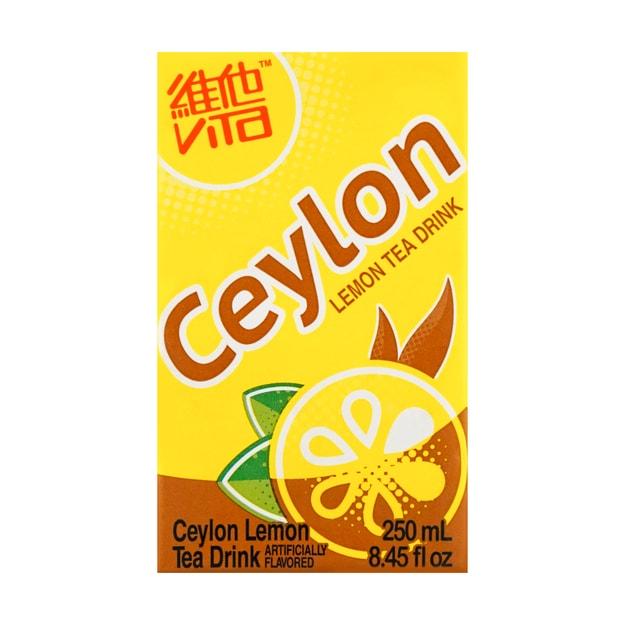 商品详情 - 香港VITA维他锡兰柠檬茶 250ml 6支装 - image  0