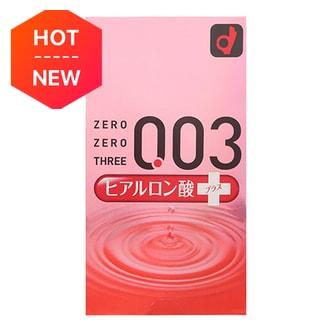 日本OKAMOTO冈本 003系列 透明质酸超薄安全避孕套 10个入