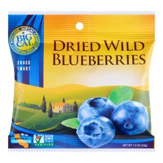 美国BIGCAL比格家 阳光干果系列 野生蓝莓干 随手包 43g