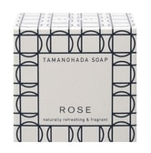 TAMANOHADA Naturally Refreshing & Fragant Soap Rose 125g