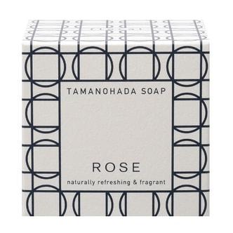 TAMANOHADA Naturally Refreshing & Fragant Soap Rose 125g