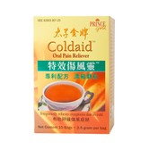 PRINCE Coldaid -- Oral Pain Reliever 10Tea Bags