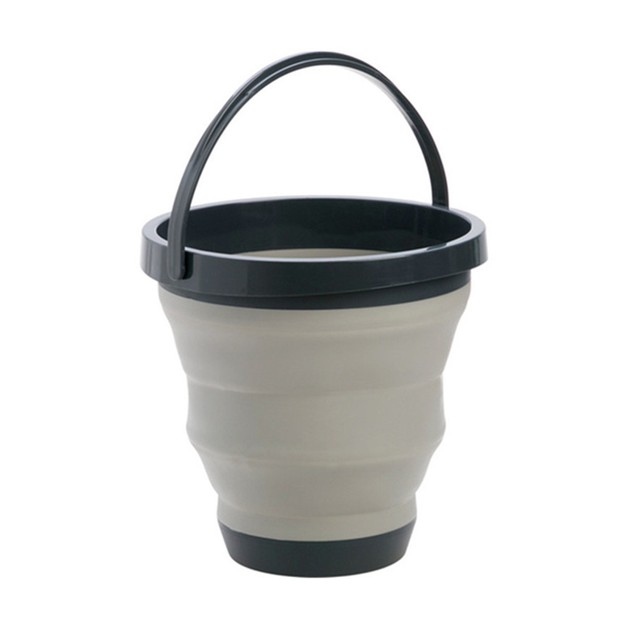 Product Detail - TIMESWOOD Portable Retractable Plastic Bucket Household Travel Outdoor Travel Foldable Bucket 1PC - image 0