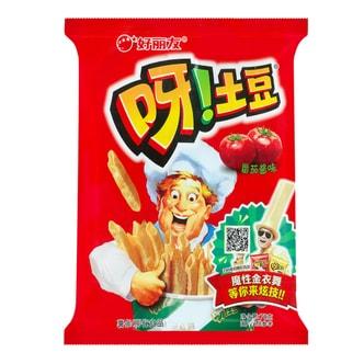 韩国ORION好丽友 呀!土豆薯条 番茄酱味 70g