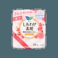 日本KAO花王 LAURIER乐而雅 纯净花卉香护垫 72片