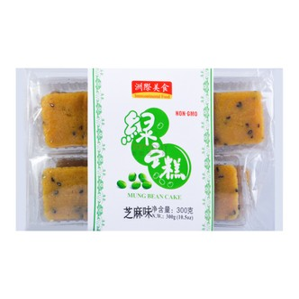 INTERNATIONAL FOOD Mung Bean Cake Sesame Flavor 300g