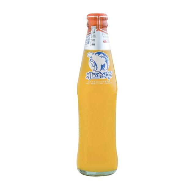 商品详情 - 北冰洋橘子汽水玻璃瓶 248ml - image  0