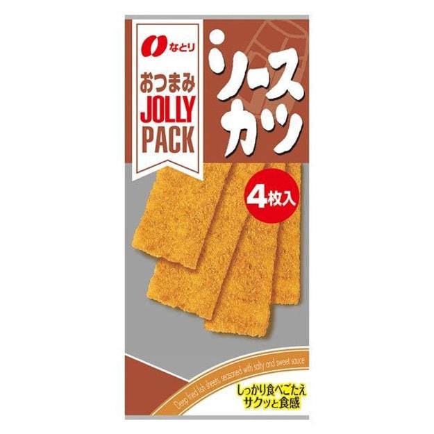 商品详情 - 【日本直邮】NATORI 日本人气海味小食 炸鱼肉肉排 4枚入 - image  0