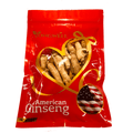 YONG WELL Hand-selected American Ginseng Large Medium-Short Size (4 oz. Gift Bag)