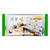 KOKUBO Living Room Wipes with Alkaline Electrolyzed Water 15sheets