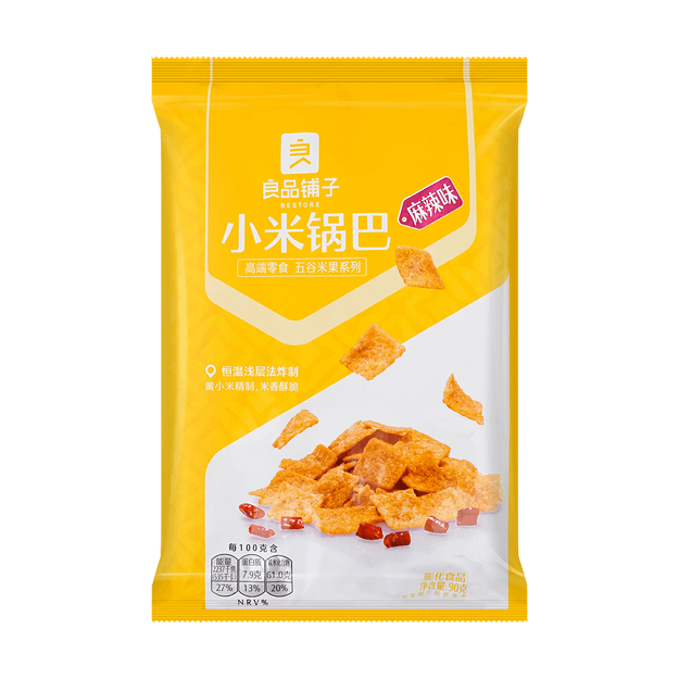 Product Detail - BESTORE Millet Crust Spicy 90g (packaging may vary) - image 0