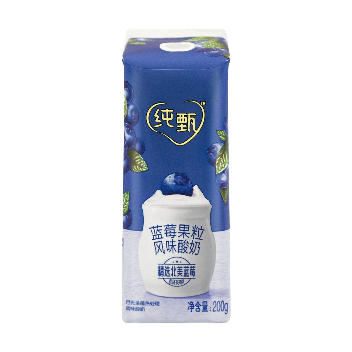 Yamibuy.com:Customer reviews:MENGNIU Chunzhen Greek Yogurt  Blueberry Flavor 200g