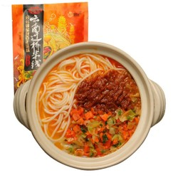 MANWAN YUNNAN CROSS BRIDGE RICE NOODLE TOM YUM SOUP  270g