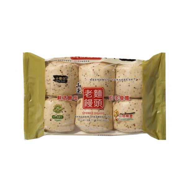 商品详情 - 小巷口山東老麵饅頭三色黎麥味 600克 - image  0