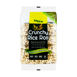 JAYONE Crunchy Rice Roll Black & White Rice 100g