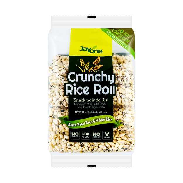 Product Detail - JAYONE Crunchy Rice Roll Black & White Rice 100g - image 0