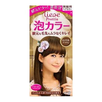 日本KAO花王 LIESE PRETTIA 泡沫染发剂 #栗子棕色 单组入 COSME大赏第一位