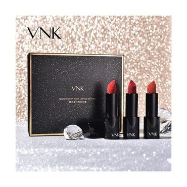 VNK Round Tube Lipstick Limited Set