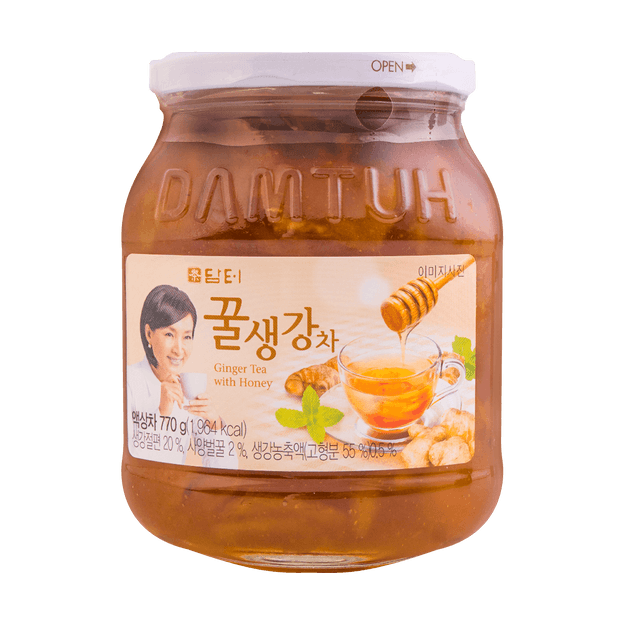 Product Detail - DAMTUH Honey Ginger Tea 770g - image 0