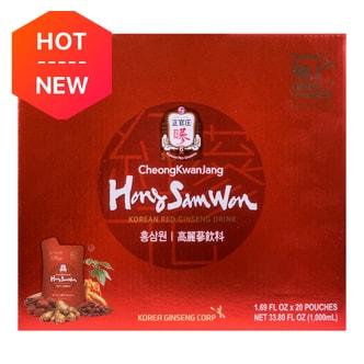 CHEONG KWAN JANG Korean Red Ginseng Drink 20 pouches