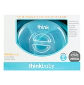 THINKBABY Think Saucer Suction Plate 6 Months Older #Blue