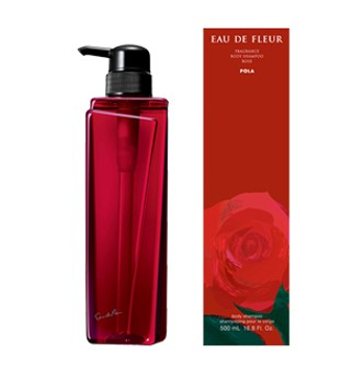 POLA  EAU DE FLEUR Fragrance Body Shampoo Rose 500ml