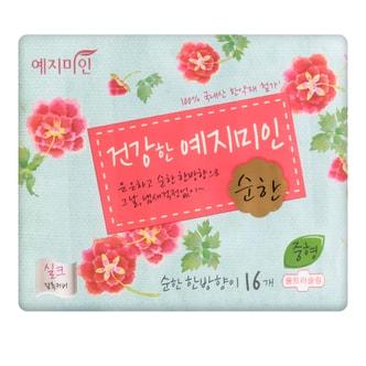 韩国YEJIMIIN礼知美人 汉方草本丝绸卫生巾 日用型  25cm 16片入 无荧光