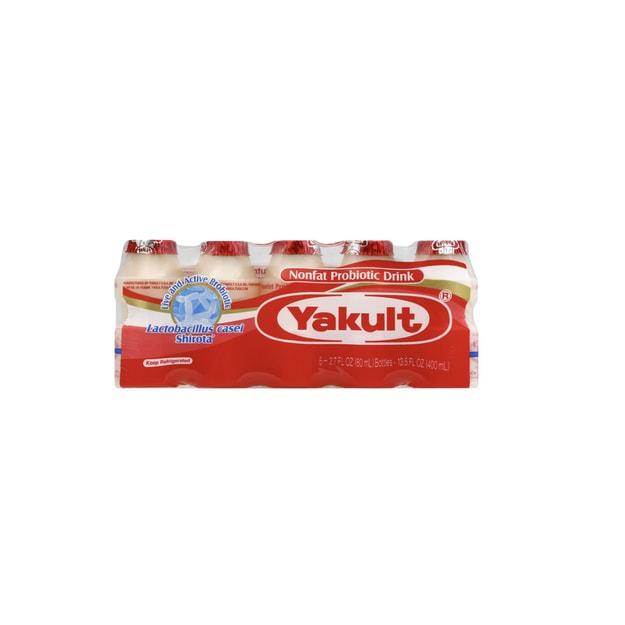 商品详情 - 日本Yakult 养乐多 益生菌饮料5*80ml - image  0