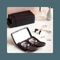 LAFABS 磁铁假睫毛 第三代量子磁粉超轻睫毛 防水防汗 2组入礼盒装 可用500+次
