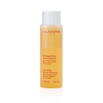 法国CLARINS娇韵诗 橘子精华卸妆水 重现光泽 深层清洁 200ml
